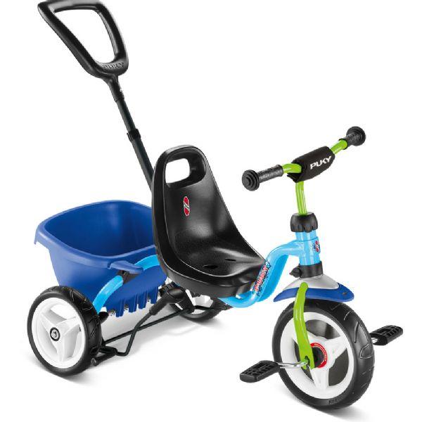 Image of Ceety Trehjulet cykel blå (04-002218)
