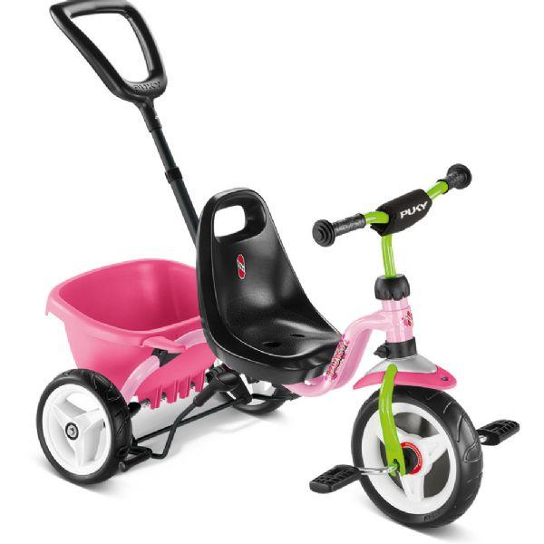 Image of Ceety Trehjulet cykel lyserød (04-002219)