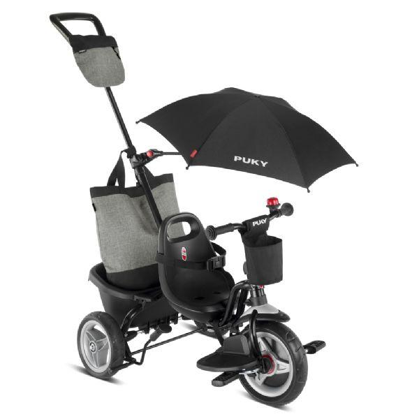 Image of Ceety Comfort Trehjulet cykel grå (04-002442)
