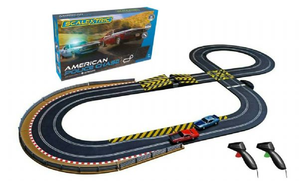 Image of Scalextric American Police Chase (07-C1405P)