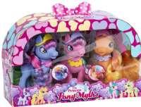 Figurer : Pony Prinsesse heste m/tilbehør - The Princess Pony heste figurer 60915