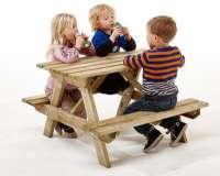 Borde og stole : Junior bord-/bænkesæt 20 mm - Bænkesæt 801053