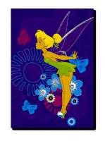 Disney Princess Matot : Matto, Disney Helinä Keiju, Trooppinen - Disney Børnetæpper 924450