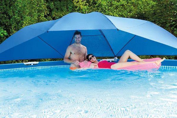Usædvanlig Pool Parasol / Baldakin - Intex bassin tilbehør 28050 Shop VR85