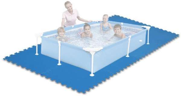 Ubrugte Pool underlag i skum - Intex tilbehør 29081 Shop - Eurotoys DV-81