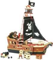 Laivat : Ensimmäinen merirosvolaivani - Vilac pirat 6600