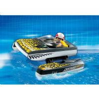 Playmobil City : Kroko Speeder Click & Go - playmobil 5161