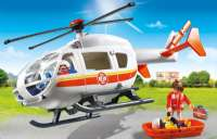 Playmobil City : Lægehelikopter - Playmobil 6686 City Life