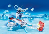 Playmobil Action : Icebot med Disc-skyder - Playmobil 6833