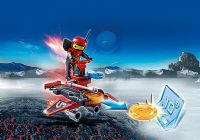 Playmobil Action : Firebot med Disc-skyder - Playmobil 6835