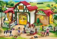 Playmobil : Ridecenter - Playmobil Hestestald 6926