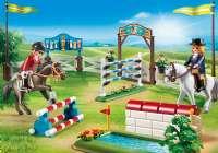 Playmobil : Hesteshow - Playmobil Hestestald 6930