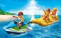 Laivat : Vesiskootteri ja banaanivene - Playmobil både 6980