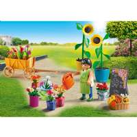 Playmobil City Life : Blomsterhandler - Playmobil 9082