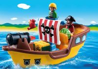 Playmobil : 1.2.3 Piratskib - Playmobil 9118