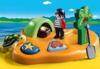 Playmobil : Piraternes Ø - Playmobil 1,2,3 Pirater 9119