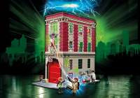 Playmobil Borge og Playsets : Ghostbusters Brandstation - Playmobil Ghostbusters 9219