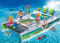 Laivat : Lasipohjainen vene vedenalaisella moottorilla - Playmobil 9233
