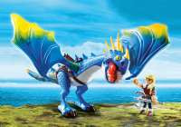 Playmobil Figurer : Astrid og Stormfly - Playmobil Dragons 9247