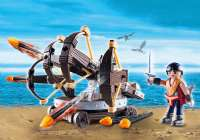 Playmobil Figurer : Eret med 4 skuds ballista - Playmobil Dragons 9249