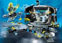 Playmobil Top Agents : Dr. Drones kommandocentral - Playmobil Top Agents 9250