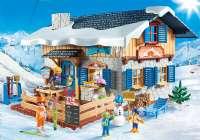Playmobil Family Fun : Skihytte - Playmobil Family Fun 9280