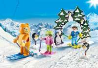 Playmobil Figurer : Skiundervisning - Playmobil Family Fun 9282