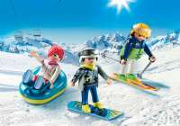 Playmobil Figurer : Skiferie - Playmobil Family Fun 9286