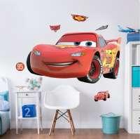 Wallstickers : Lynet McQueen wallstickers - Walltastic Disney Cars børneværelse 4436