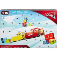 Adventskalender : Cars 3 julekalender 2017 - Disney Cars 3 biler pakkekalender FGV14