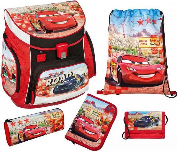 Autot koulureppusetti 5 osaa - Salama McQueen reppu 262480 Shop ... 511d005034