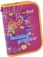 Lego Shop Skolesekker og vesker : Lego Friends Pink Penal med innhold - Lego Penalhus 13153