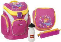 Lego Shop Skolesekker og vesker : Lego Friends Pink Penalhus med innhold - Lego Skoletaske 13363
