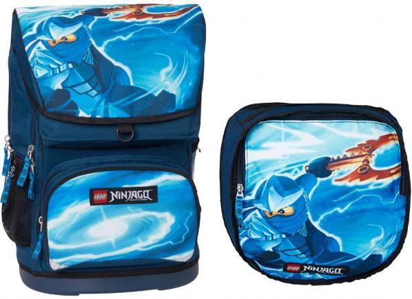 7d33edfca8a Stor Ninjago Skoletaske inkl. gym.taske - Lego skoletaske 131706 ...