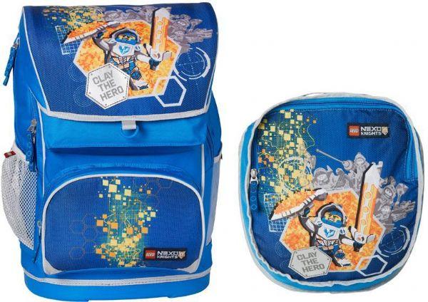 90b0456bfa4 Stor Nexo Knights skoletaske inkl. gym.t - Lego skoletaske 131708 ...