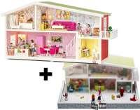 Dukkehus : Classic dukkehus med vinterhave - Lundby 601019