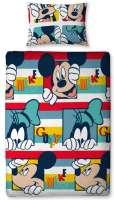 Mickey Mouse : Mickey mouse sengetøj 135x200 - Mickey sengesæt 034628