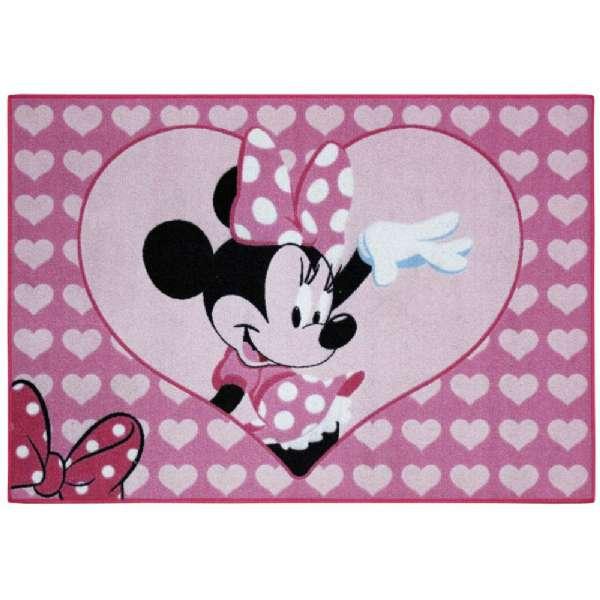Teppich Minnie Mouse Herz - Kinderteppiche 612383 Shop ...