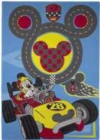Mickey Mouse : Mickey Mouse gulvtæppe - Disney Mickey børnemøbler 640322