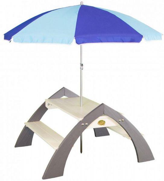 Image of Kylo bænk med parasol (190-031021)