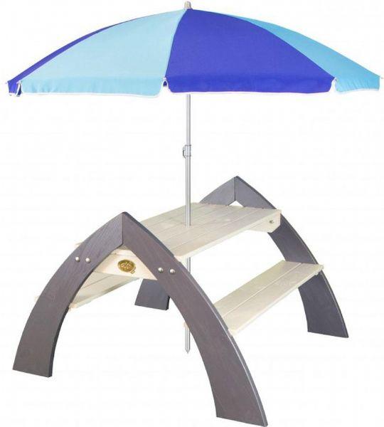 Image of Kylo xl bænk med parasol (190-031022)