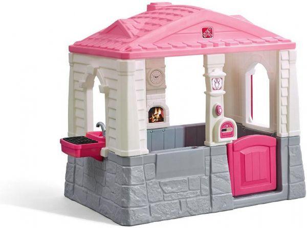 Image of Step2 Grill hytten lyserød og pink (191-729494)