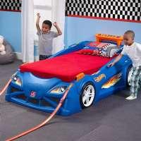 Sängar för barn : Hot Wheels Säng - Hot Wheels bil seng 854600