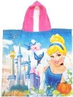 Disney Princess Kylpypyyhkeet : Disney Prinsessa Poncho pyyhe 60x120 - Disney Prinsesse poncho 29802