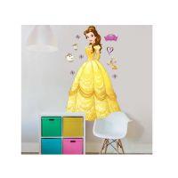 Disney Princess Seinätarrat : Disney Prinsessa Bella seinätarra - Walltastic Disney Princess børneværelse
