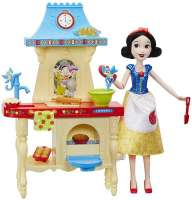 Disney Princess Nuket : Snehvides køkken m/dukke - Disney Princess dukke C0540