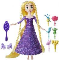 Disney Princess Nuket : Rapunzel spin and style dukke - Disney Tangled the series dukker C1748