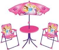 Disney Princess Pöydät ja tuolit : Disney Prinsessa -pihakalustesetti - Havemøbler 712348