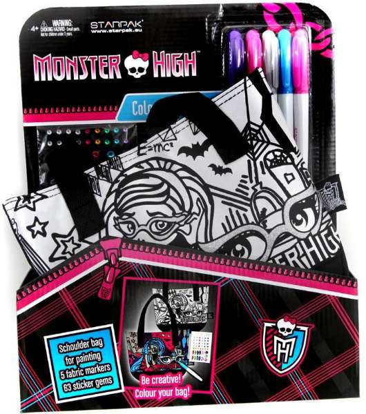 Monster High väska - Monster High väska 282699 Shop - Eurotoys ... 881437897246f
