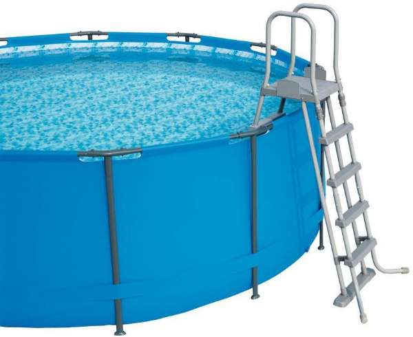 Populära Pool Stege 132 cm - Bestway 58332 Shop - Eurotoys - leksaker online LX-11